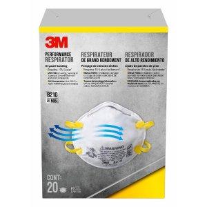3M仅限实体店Drywall Sanding Respirator (20-Pack)