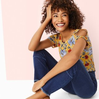 Get 55% OffLoft Outlet Full-Price Women's Jeans Pants on Sale