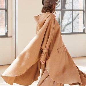 3折起 复古白衬衫€136Max Mara 大衣中的爱马仕 年度大清仓 系带大衣低至€527
