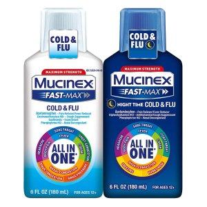 低至$10 美亚4.7星好评Mucinex 金牌感冒药大促 有备无患