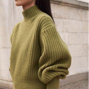 满额最高7折 $20起收多色毛衣最后一天:H&M 女装全场新款特卖 收泰迪外套、秋冬毛衣开衫