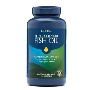 GNC三倍強效深海魚油 120粒