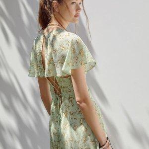 额外6折+限时免邮Urban Outfitters 精选连衣裙、连衣裤等促销