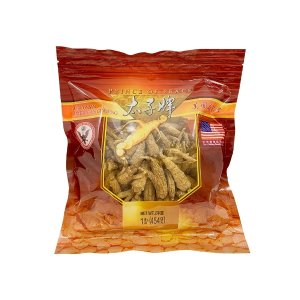 Prince of Peace Wisconsin American Ginseng Roots (Mixed Size) in bulk, 16 oz