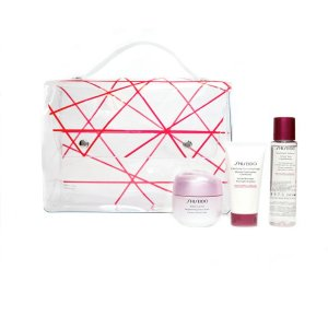 Shiseido满$75享20倍积分美白套装