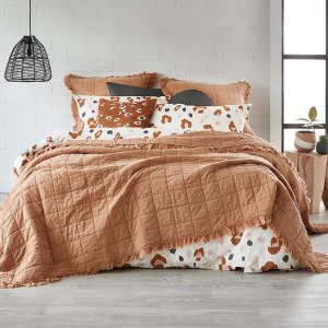 低至2折!House 品质床品专区 床单套装直降$200 鸭绒被$70收