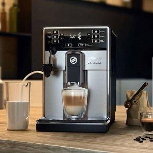 最高立减$700 高品质意式浓缩自己就能做KEURING 飞利浦 SAECO 咖啡机 家中也小资的秘密武器