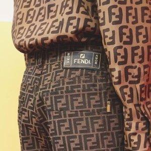 低至$79.99 超多复古双F款Fendi 精选男女款包包、鞋子、配饰等限时热卖