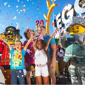 单日乐高乐园$95 两日3园$115加州乐高乐园 LEGOLAND 一日门票/两日通票
