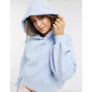 Monki仅剩XXS/XL码 57%棉婴儿蓝卫衣