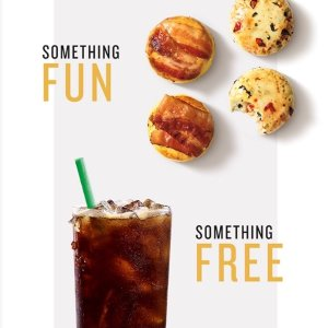 Free Coupon for Handcrafted DrinkStarbucks Reward Purchasing Any Drink or Food