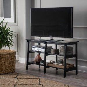 Finley Home Manhattan TV Stand - Black