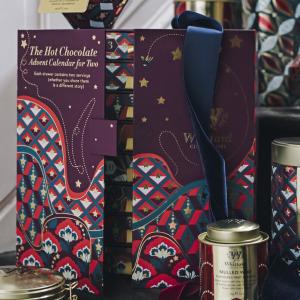 英国第一茶品牌 送礼倍儿有面Whittard 圣诞日历3款齐发 新增热可可倒数日历