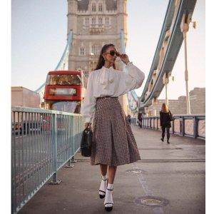 5折起+额外8折 碎花衬衫€17起上新:Sister Jane 美衣美裙折上折 古典优雅的少女风