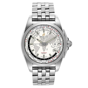 Extra 20% OffBreitling Men's Galactic Unitime Watch WB3510U0-A777-375A
