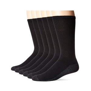 Hanes Men's ComfortBlend Max Cushion Crew Socks