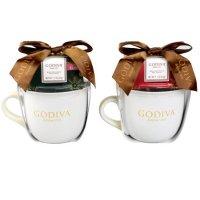 Godiva 牛奶巧克力口味热可可+马克杯礼盒套装