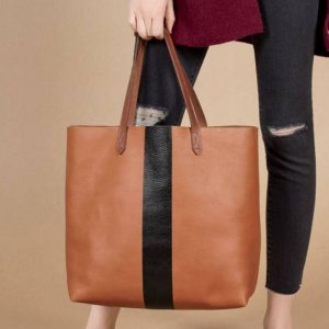 89345c922a8c MADEWELL Paint Stripe Transport Leather Tote @ Nordstrom - Dealmoon