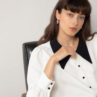 收热门丝质衬衣 造型感满分Pixie Market 夏季美衣、配饰上新热卖