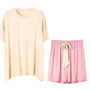 $15.29 (原价$17.99)Crescentt 睡衣套装热卖 软萌日系风 两色可选