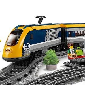 $149.99(原价$199.99)Lego 乐高城市系列客运火车 60197 支持手机遥控