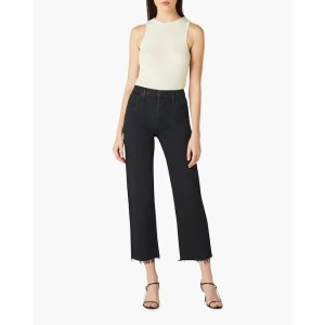 Remi High-Rise Cropped Straight Jeans