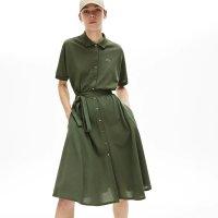 Lacoste polo A字连衣裙