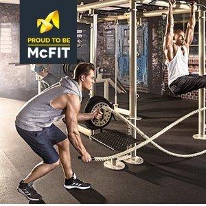 犹犹豫豫的朋友可以先试一个月啦McFIT健身房会员卡 一个月的试用月卡只要€10