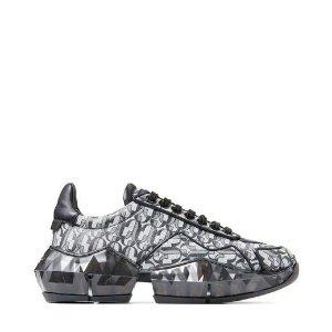 Jimmy Choo宋茜同款钻石运动鞋