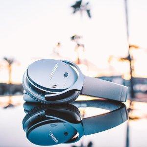 Bose6.6折,3色可选,配备BoseAR技术QuietComfort 35 II 无线蓝牙耳机