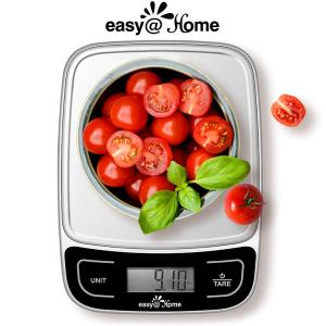 $20.75(原价$26.98)Easy@Home 多功能电子厨房秤特卖,精致厨房必备