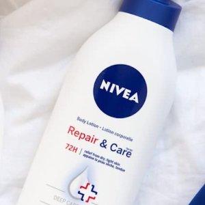 $7.57(原价$8.98)NIVEA 修复保湿身体乳72小时长效锁水625ml 解救干燥缺水肌