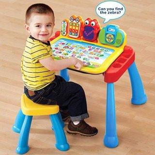 $42.99(原价$54.99)VTech 豪华版 互动学习桌椅套装