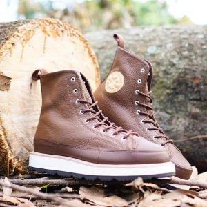 一律$50(原价$120)+包邮Converse官网 男女潮流冬季踝靴额外5折