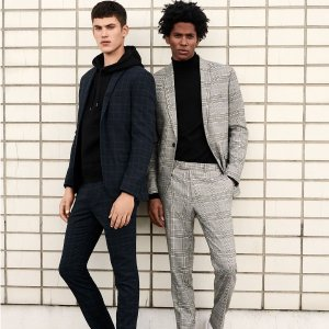 Buy 1 Get 1 50% Off + Free ShippingTopman Selected Men's Trousers on Sale