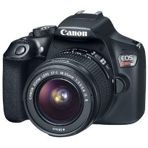 $268.99Refurbished EOS Rebel T6 EF-S 18-55mm f/3.5-5.6 IS II Lens Kit