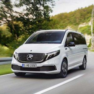 Mercedes-Benz 奔驰 EQV世界首款 纯电动豪华商务车发布