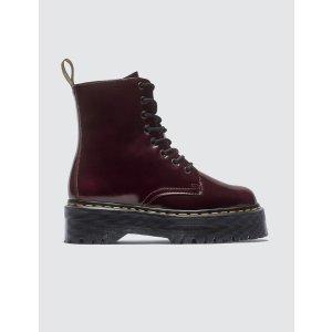 Dr MartensVegan 棕红马丁靴