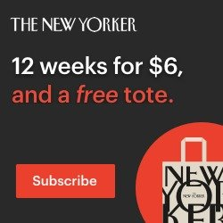Free Tote12 weeks for $6 + Free tote! @The New Yorker