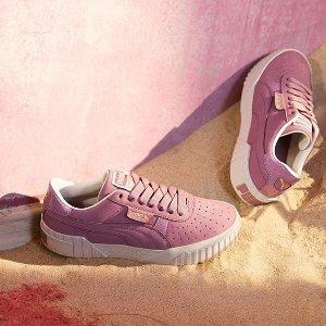 低至5折 £43收香芋紫卫衣Puma官网 温柔色专区 香芋紫、樱花粉、豆沙色都有