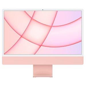 """$1709起 多色可选,包邮+自营Apple 24"""" iMac M1芯片 8核GPU+4个USB-C接口版"""