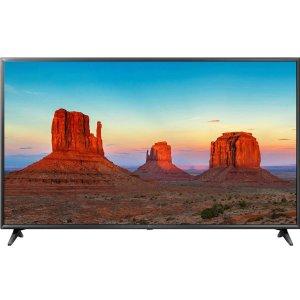 $549.99(原价$799.99)LG UK6090 55'' 4K HDR LED 智能电视 均分4.6的好电视