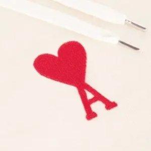 全场75折 €52收爱心袜子套装Ami Paris 巴黎潮牌小红心 简约可爱 新款薄荷绿、香芋紫上线