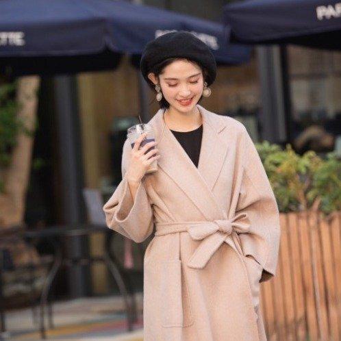 Elisa 驼色大衣