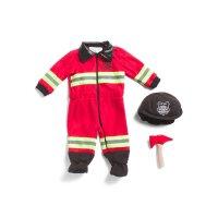 婴儿消防员装扮服