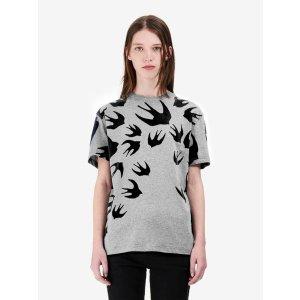 MCQ ALEXANDER MCQUEENSwallow Signature T-Shirt