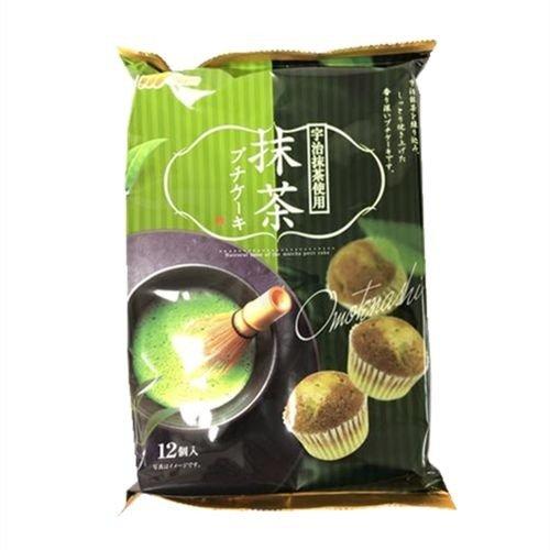 日本 丸金抹茶杯子蛋糕 230g(买即送1个苹果)