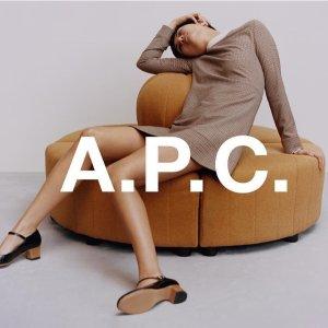 低至7折 收绝美丝绸连衣裙黑五捡漏:A.P.C 服饰大促 包揽低调的法式高级感