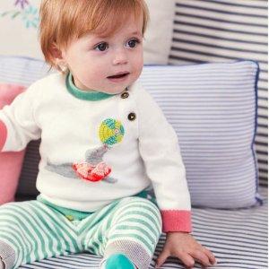 无门槛包邮上新:Mini Boden 官网 儿童服饰促销区低至5折,清仓区低至3折