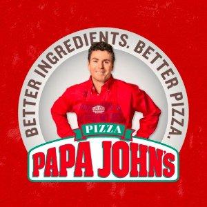 满$20 大号Pizza免费得!Papa John's 下单满额就送Pizza 超级优惠